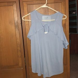 Brand new light blue blouse